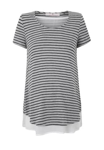 Bellybutton Umstandsshirt, Stillshirt 2in1 Look kaufen