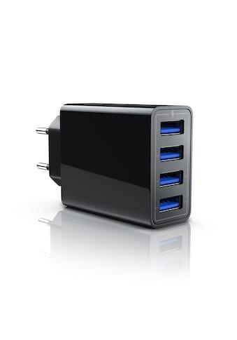Aplic kompaktes 4-Port USB Ladegerät für Handy, Tablet uvm. kaufen