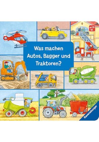 Buch »Was machen Autos, Bagger und Traktoren? / Susanne Gernhäuser, Ursula Weller« kaufen