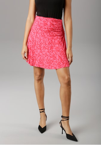 Aniston SELECTED Sommerrock, mit seitlicher Raffung kaufen