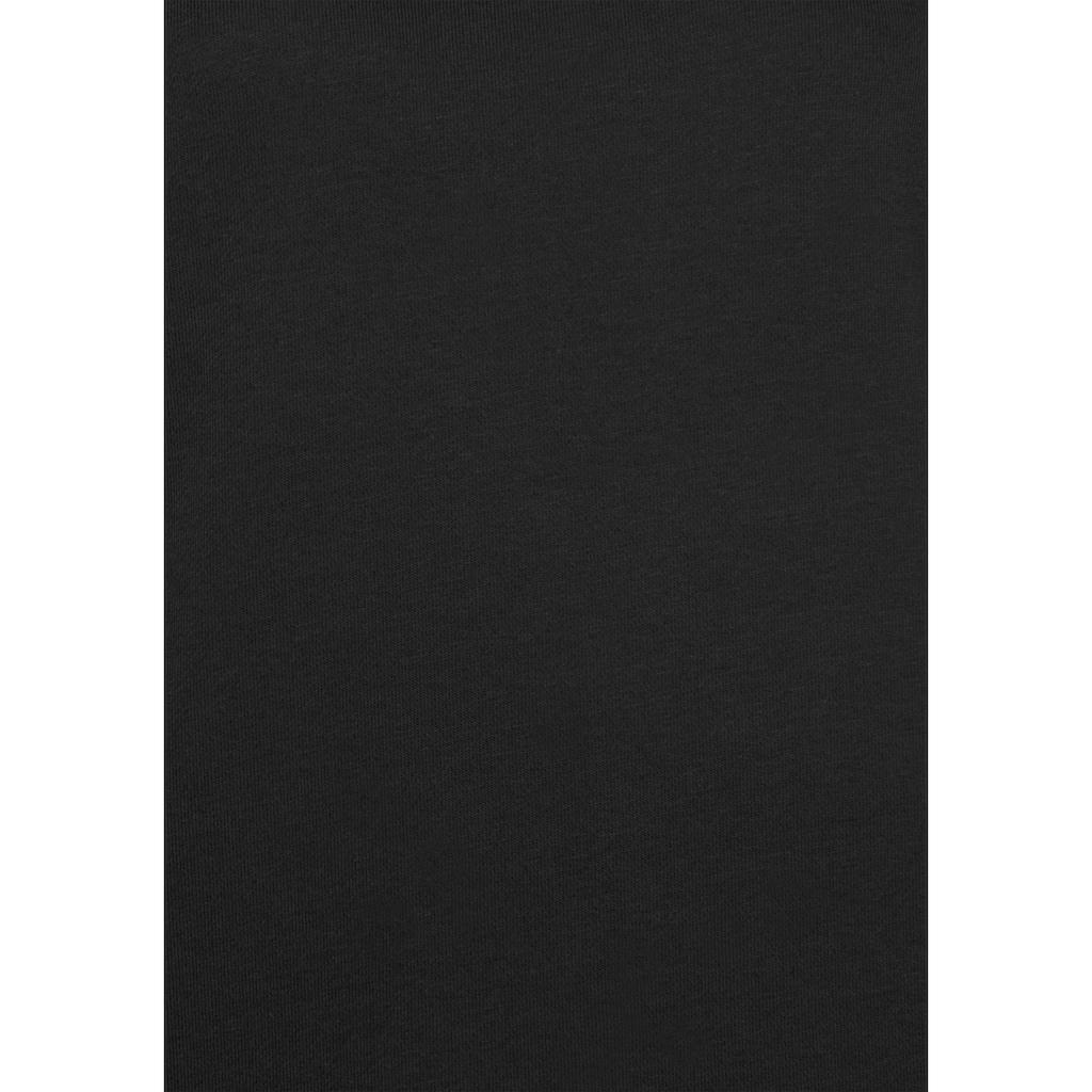 Bench. Sweatkleid, mit seitlichen Streifen und Druckknöpfen