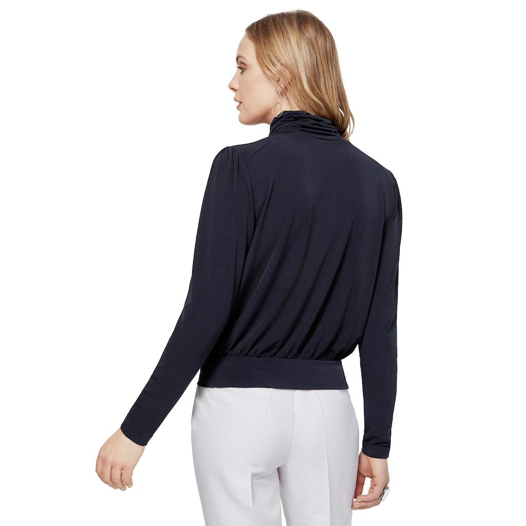 création L Shirt in Blousonform
