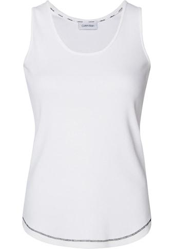 Calvin Klein Trägertop »SOFT RIB JERSEY TANK« kaufen