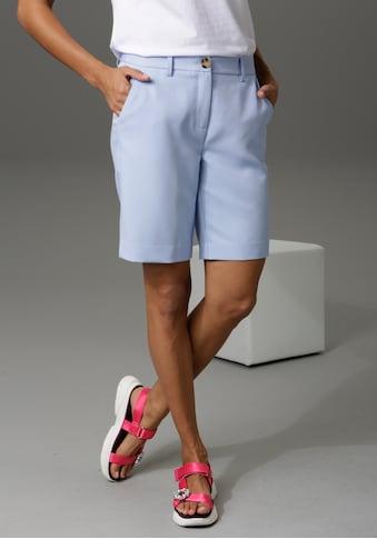 Aniston CASUAL Bermudas, mit kleinem Schlitz am Bein - NEUE KOLLEKTION kaufen