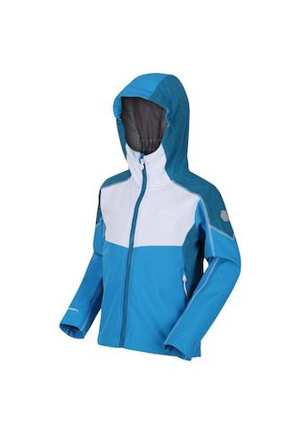 Regatta Softshelljacke »Kinder Acidity IV Reflective Kapuzen Softshell Jacke« kaufen