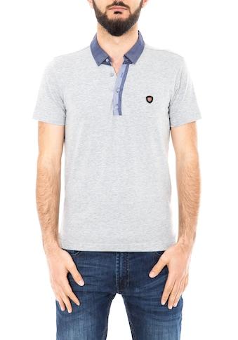 Daniel Daaf Poloshirt, mit kontrastfarbener Knopfleiste kaufen