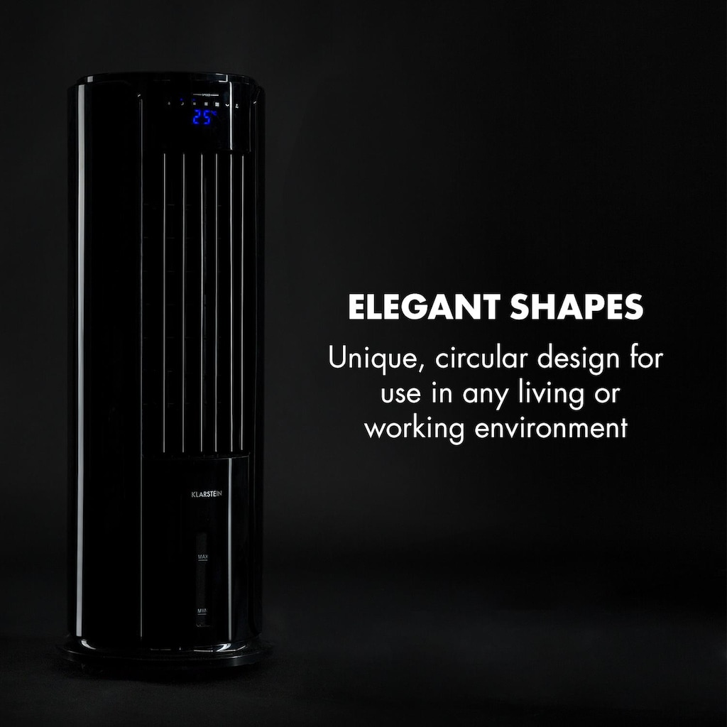 Klarstein Skyscraper Horizon Luftkühler Ventilator 60W 486m³/h 3