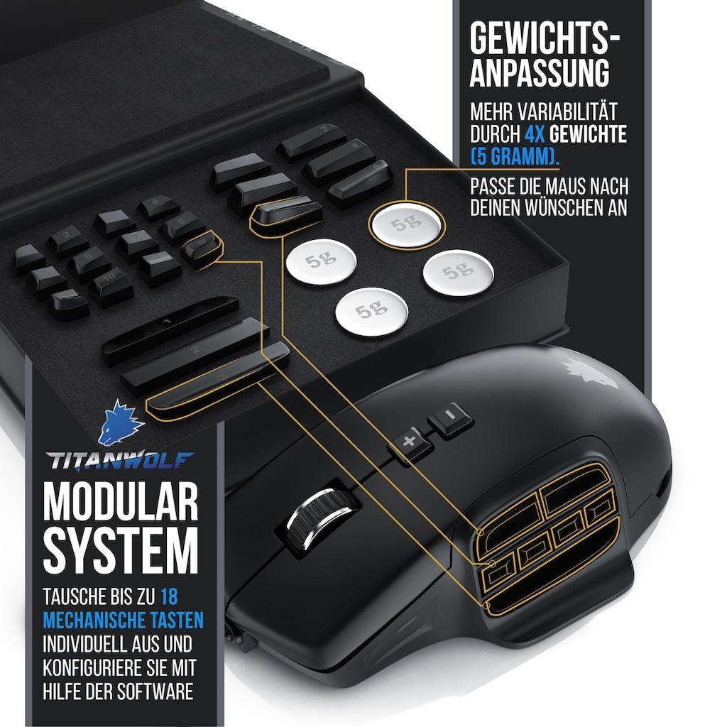 "Titanwolf MMO Gaming Maus ""System"""