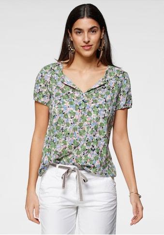 TOM TAILOR Print-Shirt, mit verschiedenen Blümchen-Dessins kaufen