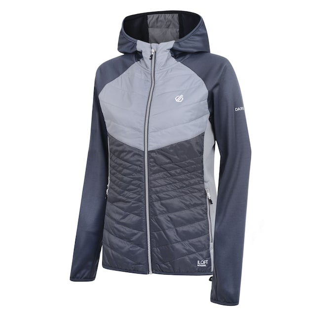 Regatta Outdoorjacke »Dare2b Damen Hybrid-Jacke Nominate mit Kapuze«