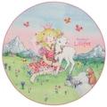 Prinzessin Lillifee Kinderteppich »LI-102«, rund, 2 mm Höhe, Druckteppich, Kinderzimmer