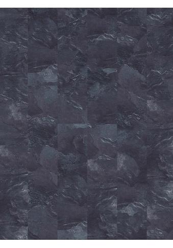 Infloor Teppichfliese »Velour Steinoptik Schiefer grau«, rechteckig, 6 mm Höhe, 14... kaufen