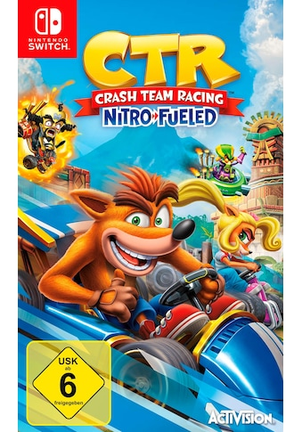 CTR Crash Team Racing Nitro Fueled Nintendo Switch kaufen