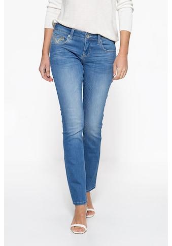 ATT Jeans Straight-Jeans »Stella«, mit markanter Absteppung auf der Münztasche kaufen