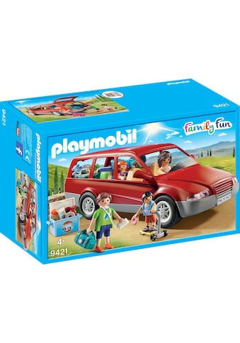 "Playmobil® Konstruktions - Spielset ""Familien - PKW (9421), Family Fun"", Kunststoff kaufen"