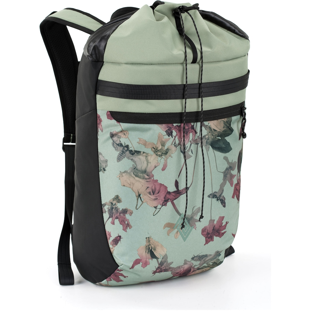 NITRO Freizeitrucksack »Fuse, Dead Flower«, mit Laptopfach