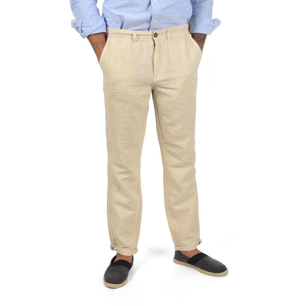 Solid Leinenhose »Loran«, lange Hose aus Leinen