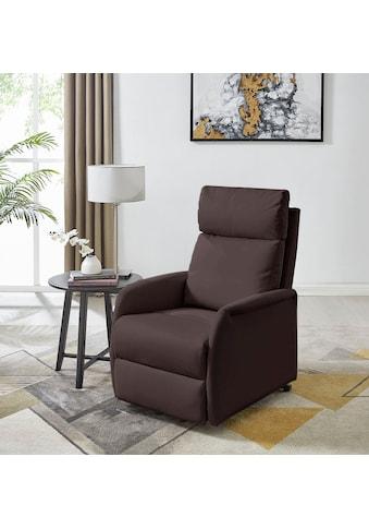 DELAVITA Relaxsessel »Berit«, mit einer praktischen elektrischen Relaxfunktion, Sitz-... kaufen