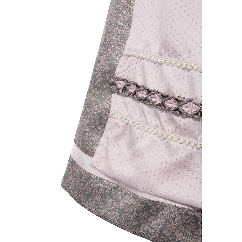 MarJo Dirndl »Numa«, (2 tlg.), Schürze mit Perlenbordüre