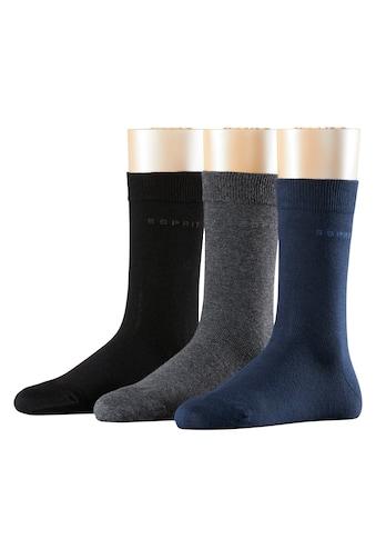 Esprit Socken Solid - Mix 3 - Pack (3 Paar) kaufen