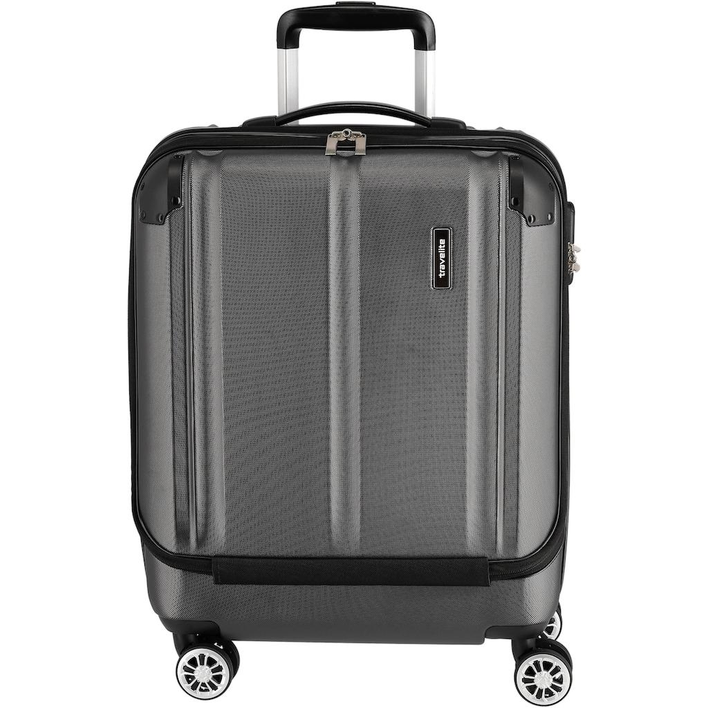 "travelite Business-Trolley ""City, 55 cm, anthrazit"", 4 Rollen"