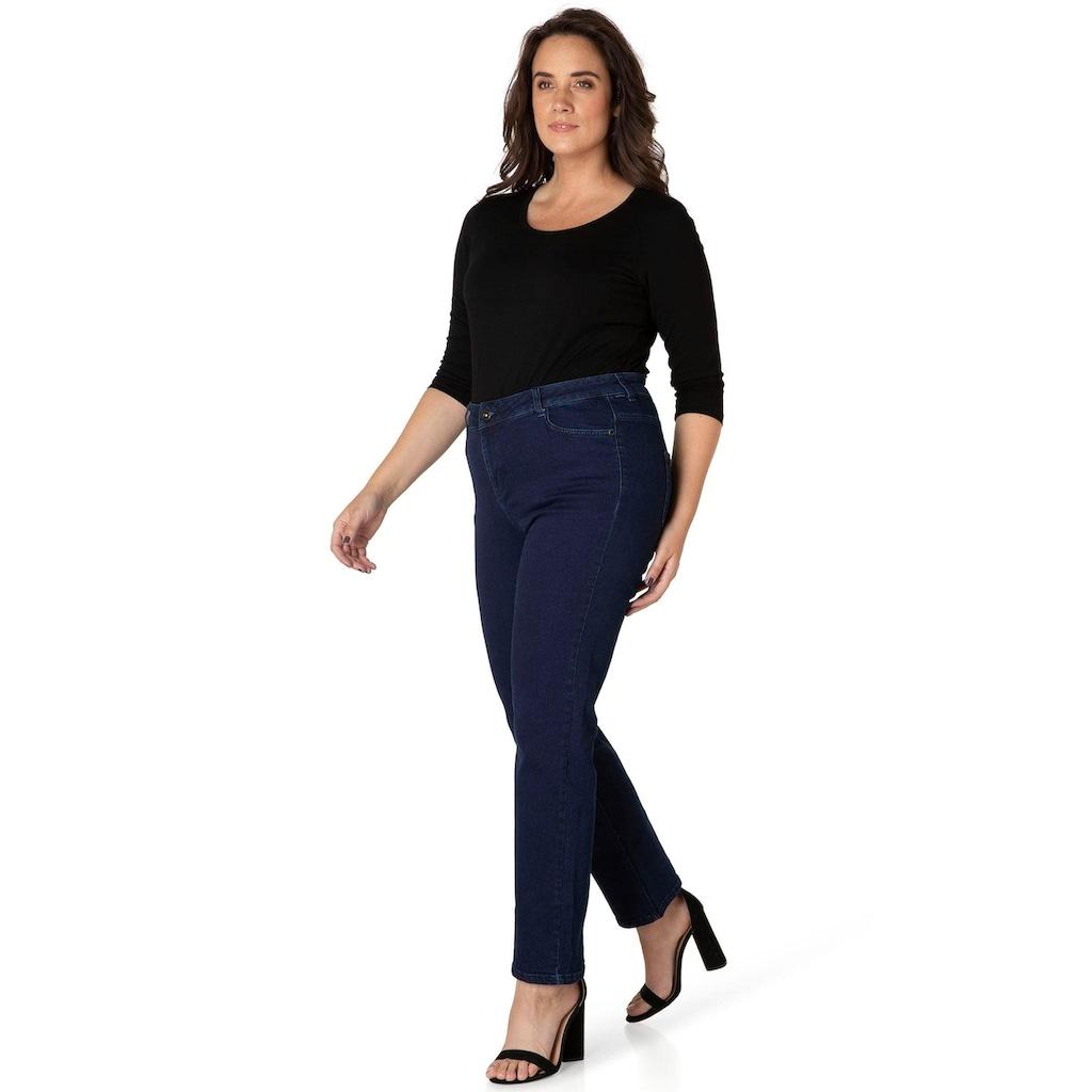 DNIM by Yesta Gerade Jeans »Lynna«, Gerade geschnitten für einen klassischen Look