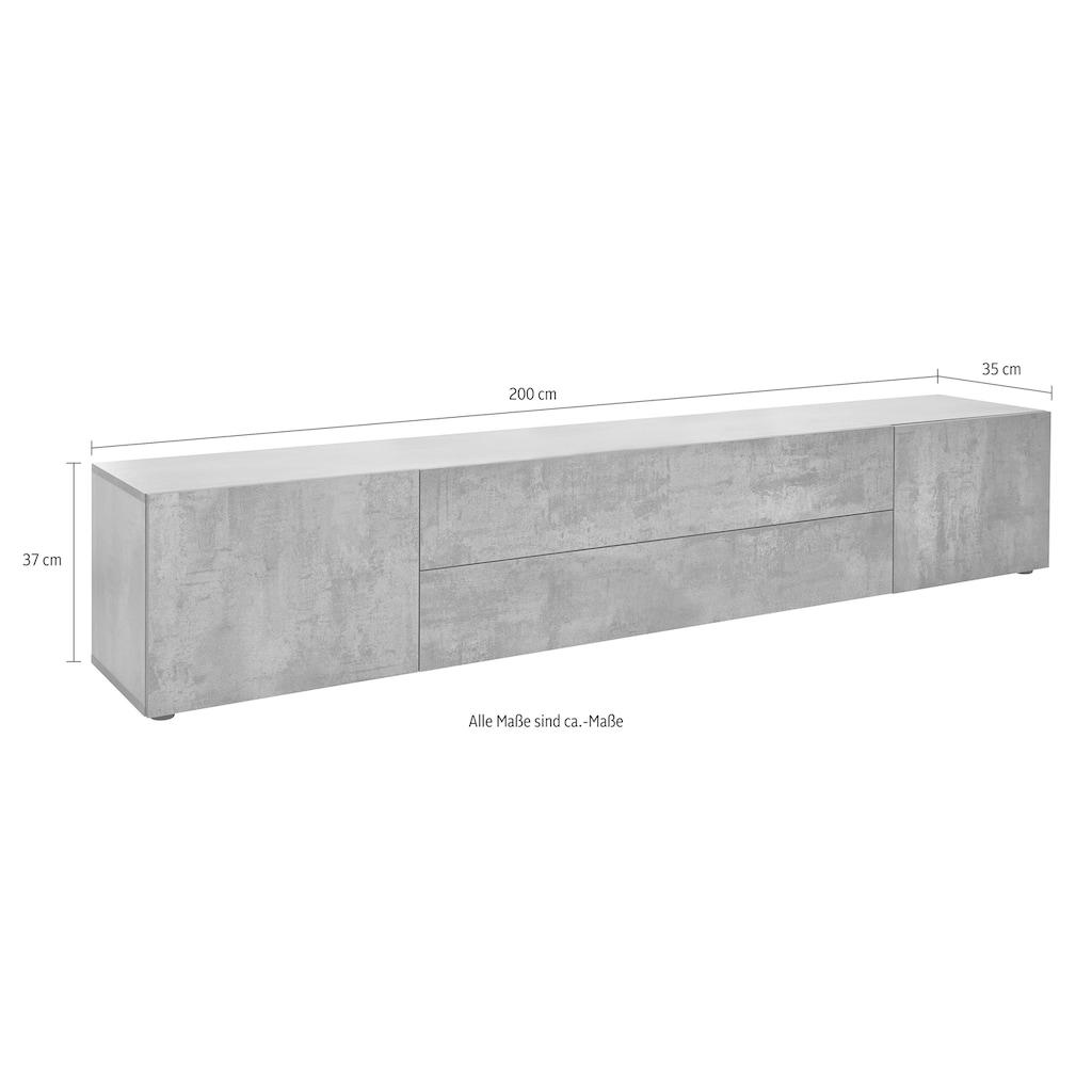 borchardt Möbel Lowboard, Breite 200 cm