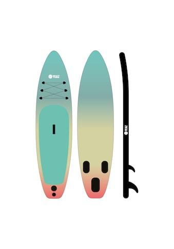 YEAZ Inflatable SUP-Board »LAGUNA BEACH«, (5 tlg.), inkl. Alu-Paddel, Handpumpe, Repair-Kit und Rucksack kaufen