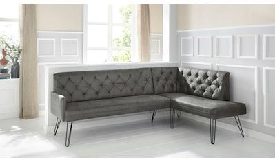 exxpo - sofa fashion Eckbank »Doppio«, Frei im Raum stellbar kaufen