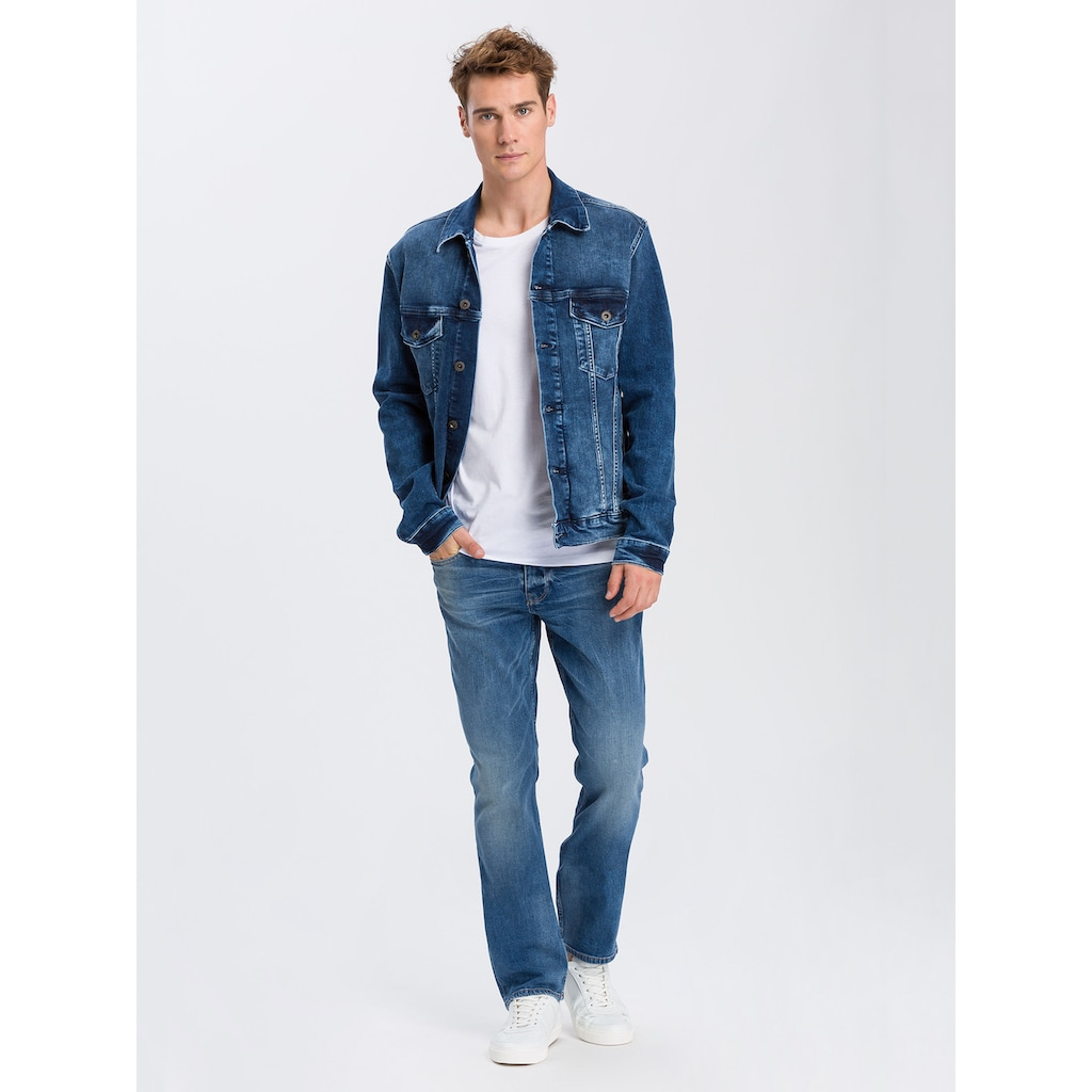 Cross Jeans® Regular-fit-Jeans »Dylan«, Robuste Denim-Qualität