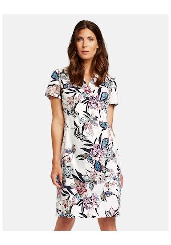 GERRY WEBER Kleid Gewebe »1/2 Arm Kleid mit Floralprint« kaufen