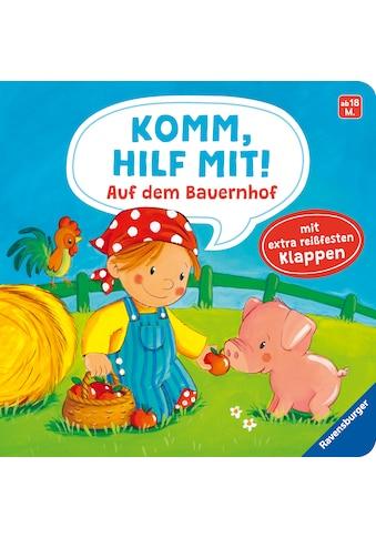Buch »Komm, hilf mit! Auf dem Bauernhof / Emilie Jakobs, Sabine Kraushaar« kaufen