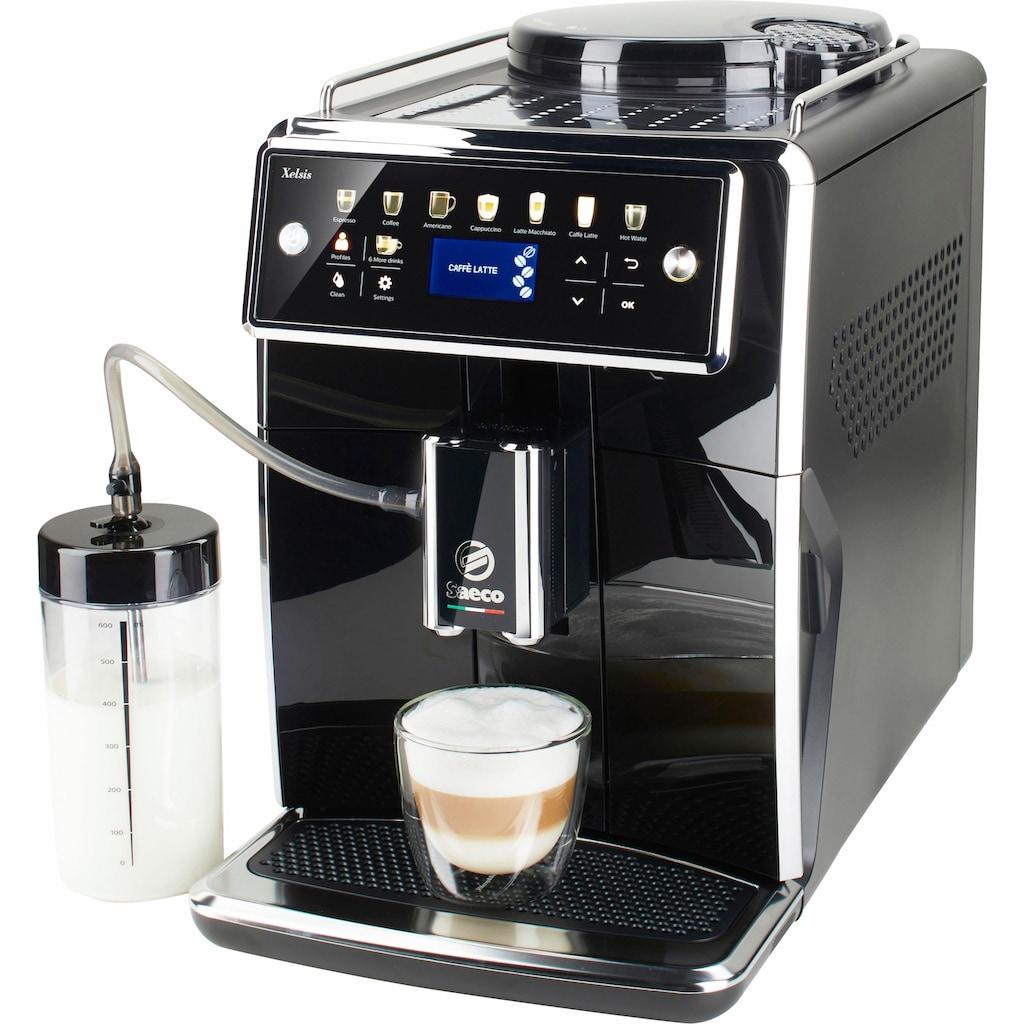 Saeco Kaffeevollautomat »SM7580/00 Xelsis«, 12 Getränke, piano black