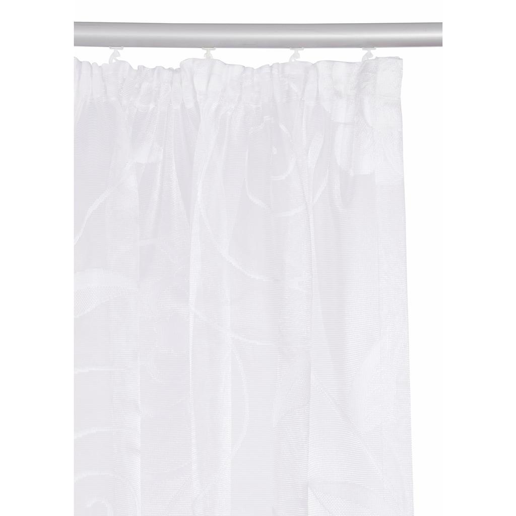 my home Gardine »Maddy«, Vorhang, Fertiggardine, Store, transparent