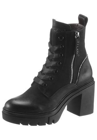 Replay High-Heel-Stiefelette »Jen«, im derben Look kaufen