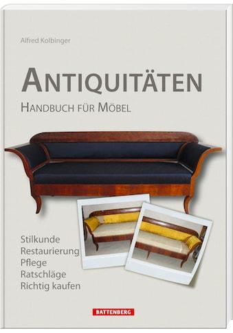 Buch Antiquitäten / Alfred Kolbinger kaufen