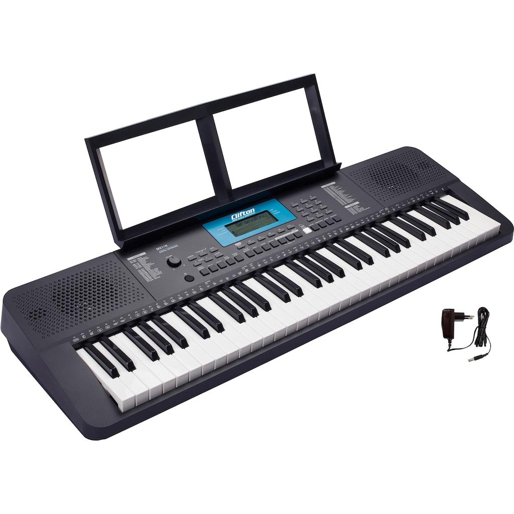 Clifton Keyboard »M211«, mit 200 verschiedenen Schlagzeug Grooves