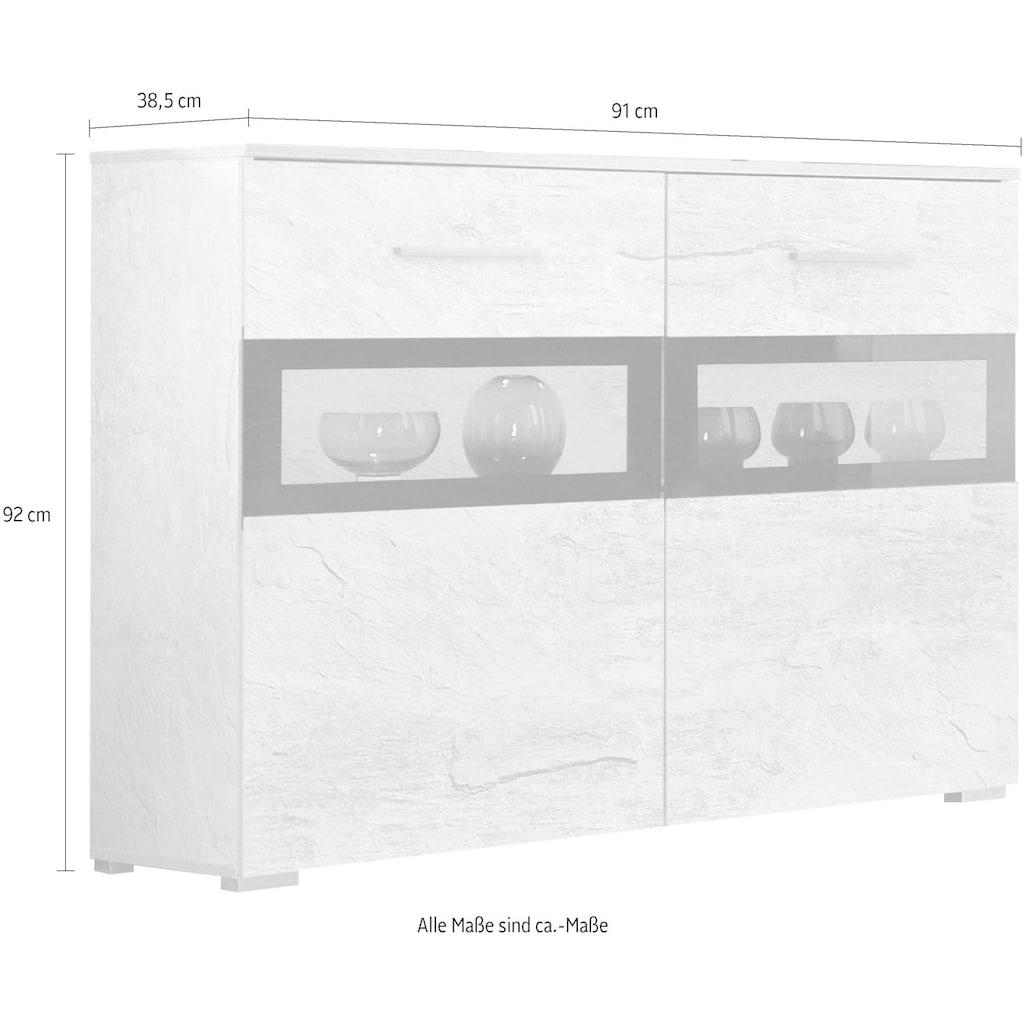 Helvetia Sideboard »Sarah«, Breite 91 cm