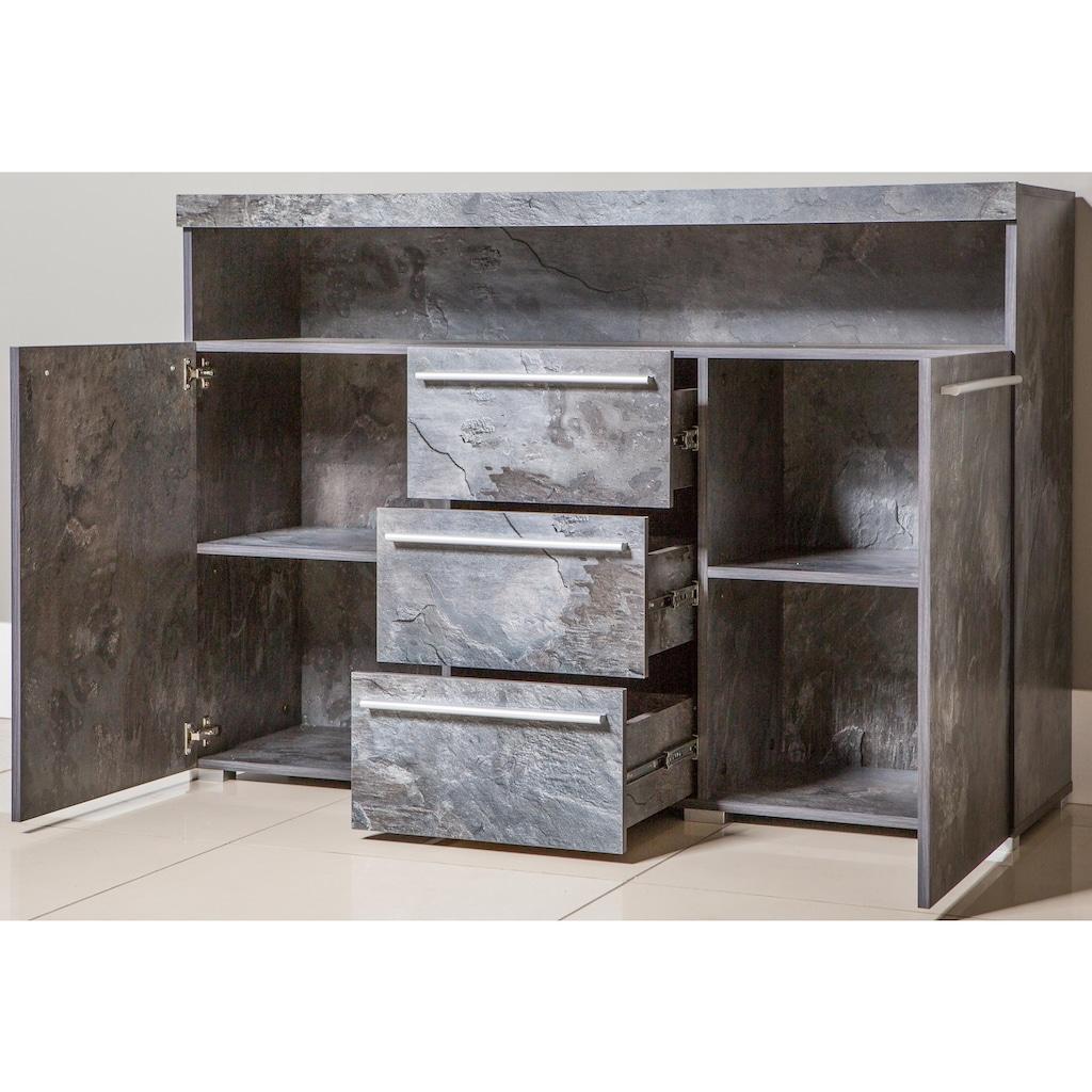 TRENDMANUFAKTUR Sideboard »India«, Breite 132 cm