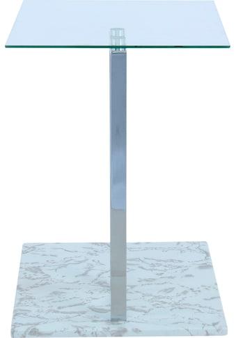 Kayoom Beistelltisch »Beistelltisch Julius 225«, parallele Bodenplatte kaufen