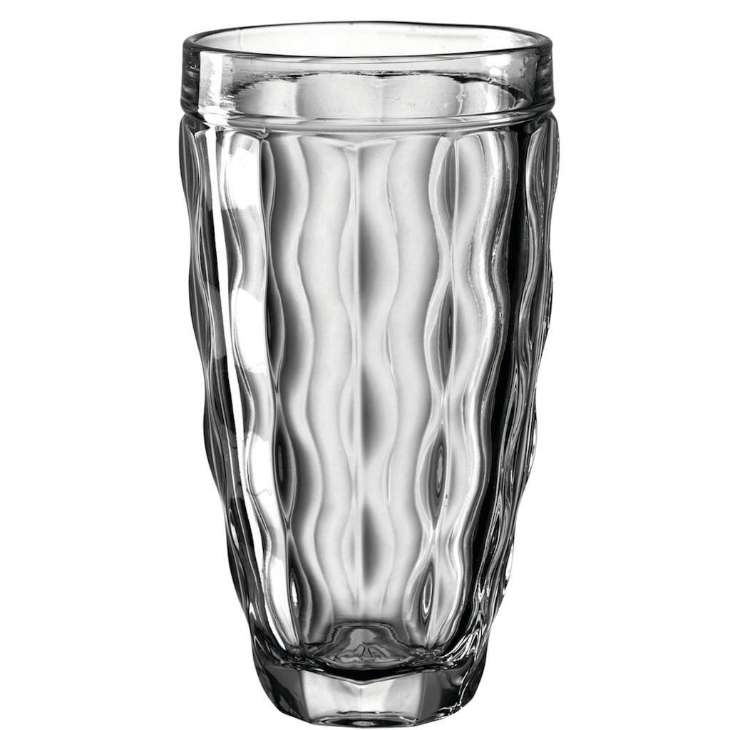 LEONARDO Longdrinkglas »BRINDISI«, (Set, 6 tlg.), farbiges Colori-Glas, 370ml, 6-teilig