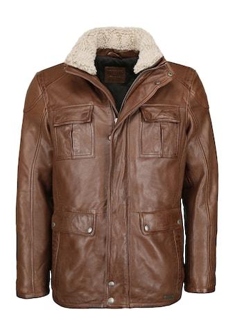 MUSTANG Lederjacke »31019262-RF«, mit normalem Schnitt kaufen