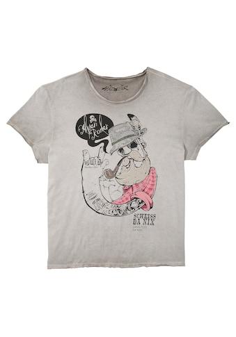 Hangowear Trachtenshirt, mit Print vorne kaufen
