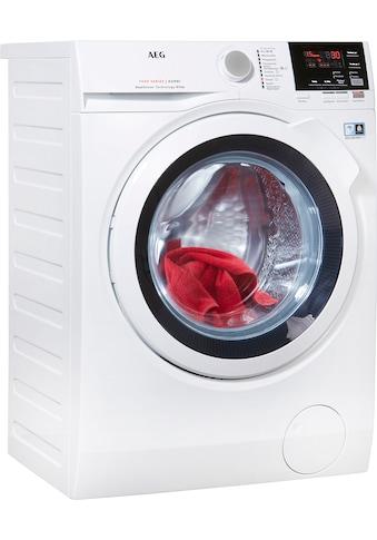 AEG Waschtrockner »L7WB58WT«, mit DualSense für schonende Pflege, 4 Jahre Herstellergarantie kaufen