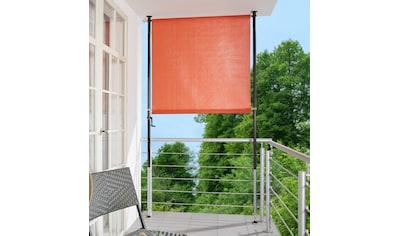 ANGERER FREIZEITMÖBEL Klemm - Senkrechtmarkise orange, BxH: 150x225 cm kaufen