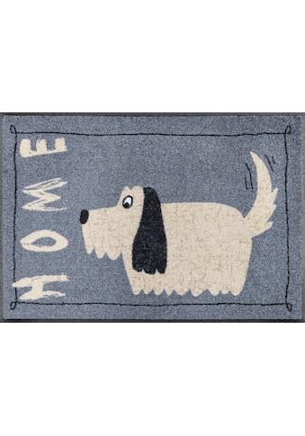wash+dry by Kleen-Tex Fußmatte »Doggy Home«, rechteckig, 7 mm Höhe, Schmutzfangmatte,... kaufen