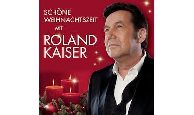 Musik - CD Schöne Weihnachtszeit Mit Roland Kaiser / Kaiser,Roland, (1 CD) kaufen