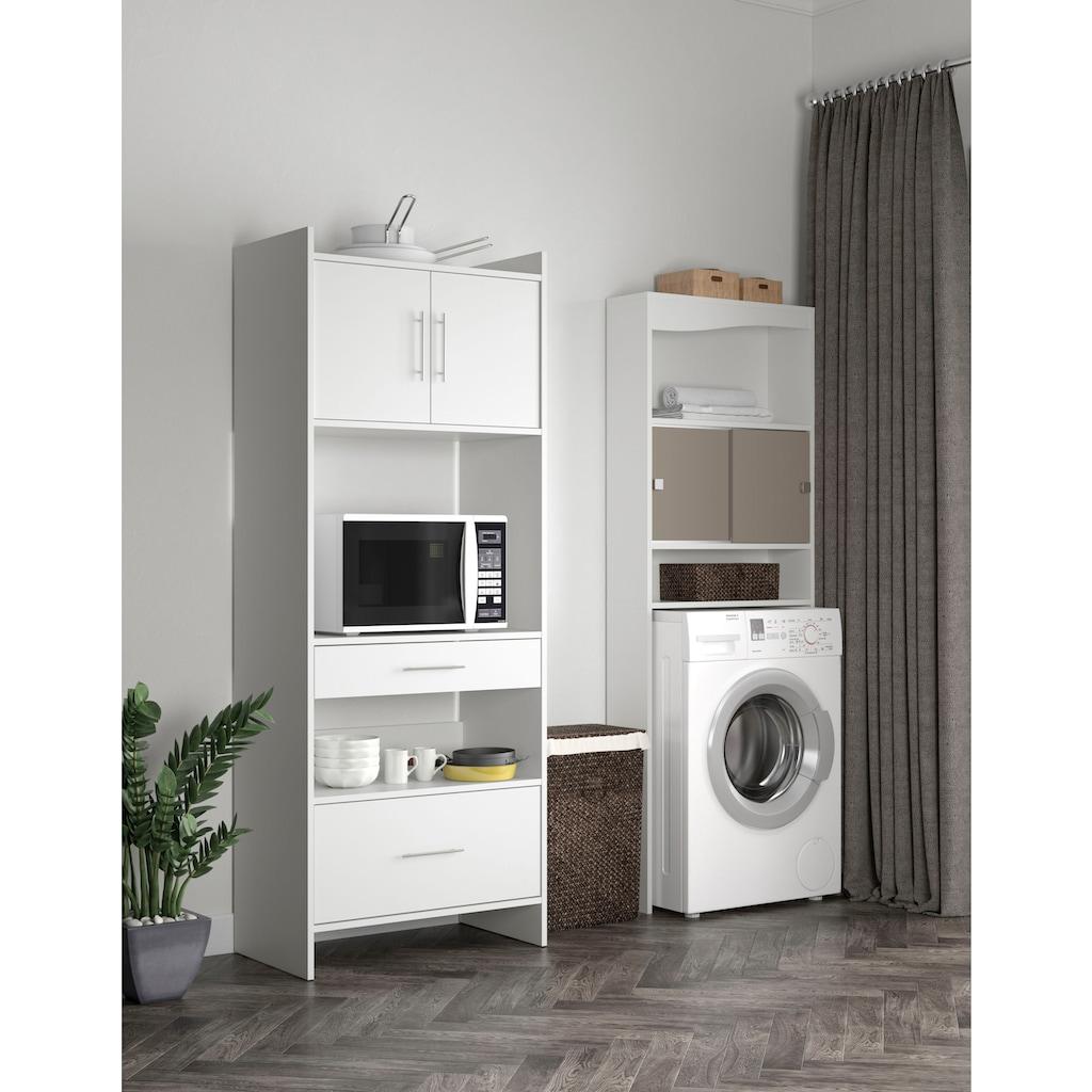 TemaHome Waschmaschinenumbauschrank »Wave Schrank«