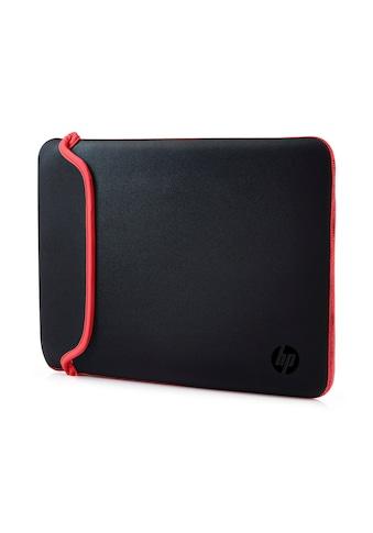 HP Laptoptasche »39,62 cm (15,6 Zoll) Neoprenhülle«, Sleeve Black/Red kaufen