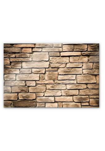 Wall-Art Küchenrückwand »Steinoptik Italien Stein Mauer« kaufen